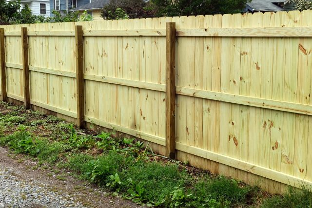 New Fence Installation in Beaverton Home